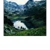 """""""Vidange du barrage"""", étang de Gnioure (Ariège)"""