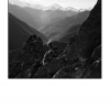 """""""Bergère dans les rochers"""", Ariège"""